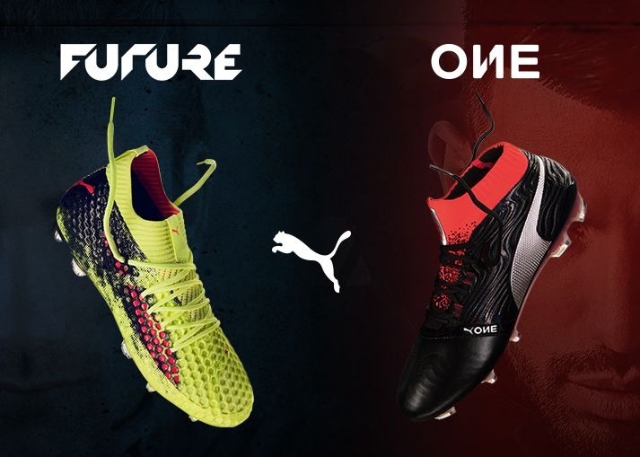 Buy the newest PUMA FUTURE and ONE football boots on unisportstore.com