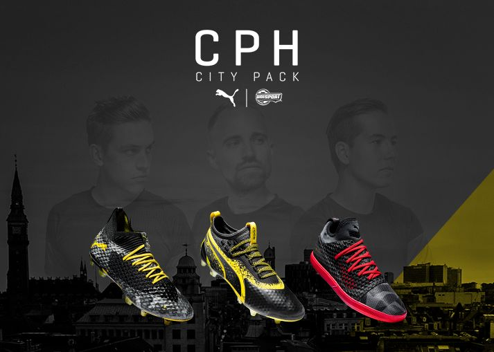 It is here! The Unisport x PUMA Copenhagen City Pack. Get the extremely limited pack exclusively at Unisport!