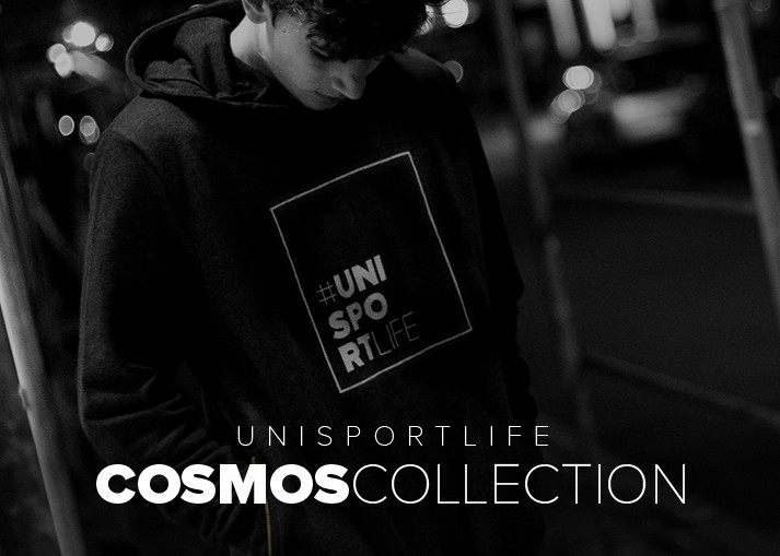 Premium lifestyle collection - Buy #unisportlife Cosmos clothes now!