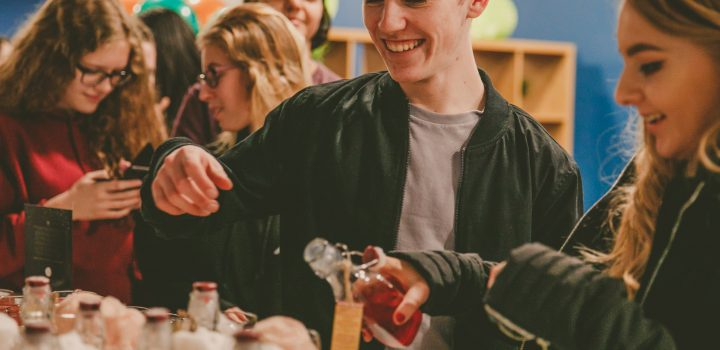 The Newcastle Student Hall Hosting Cocktail Parties… 🍸