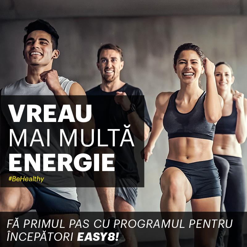 Începe să trăiești sănătos cu Easy8!