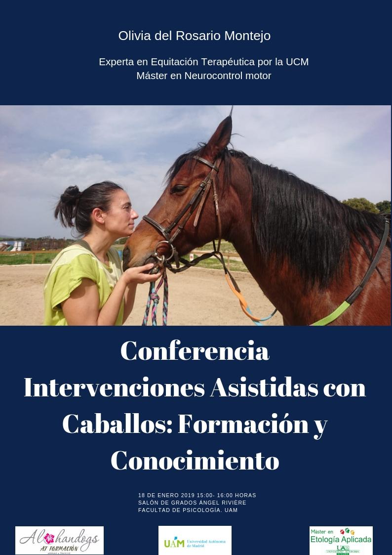 Conferencia interevenciones asistidas con caballos Olivia del Rosario Montejo.jpg