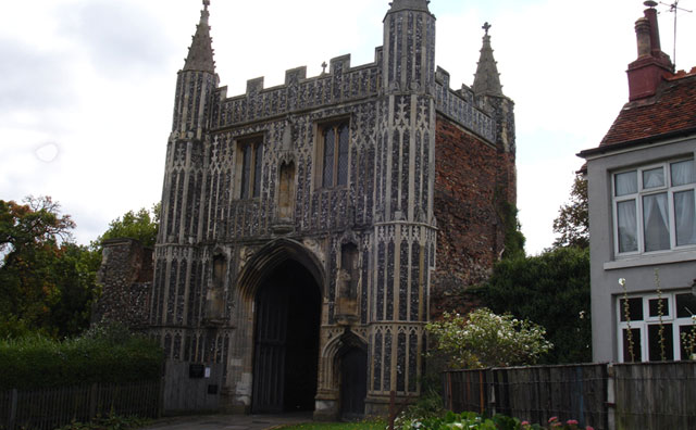 St John's Abbey Gate
