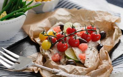 Mediterranean seabass parcels