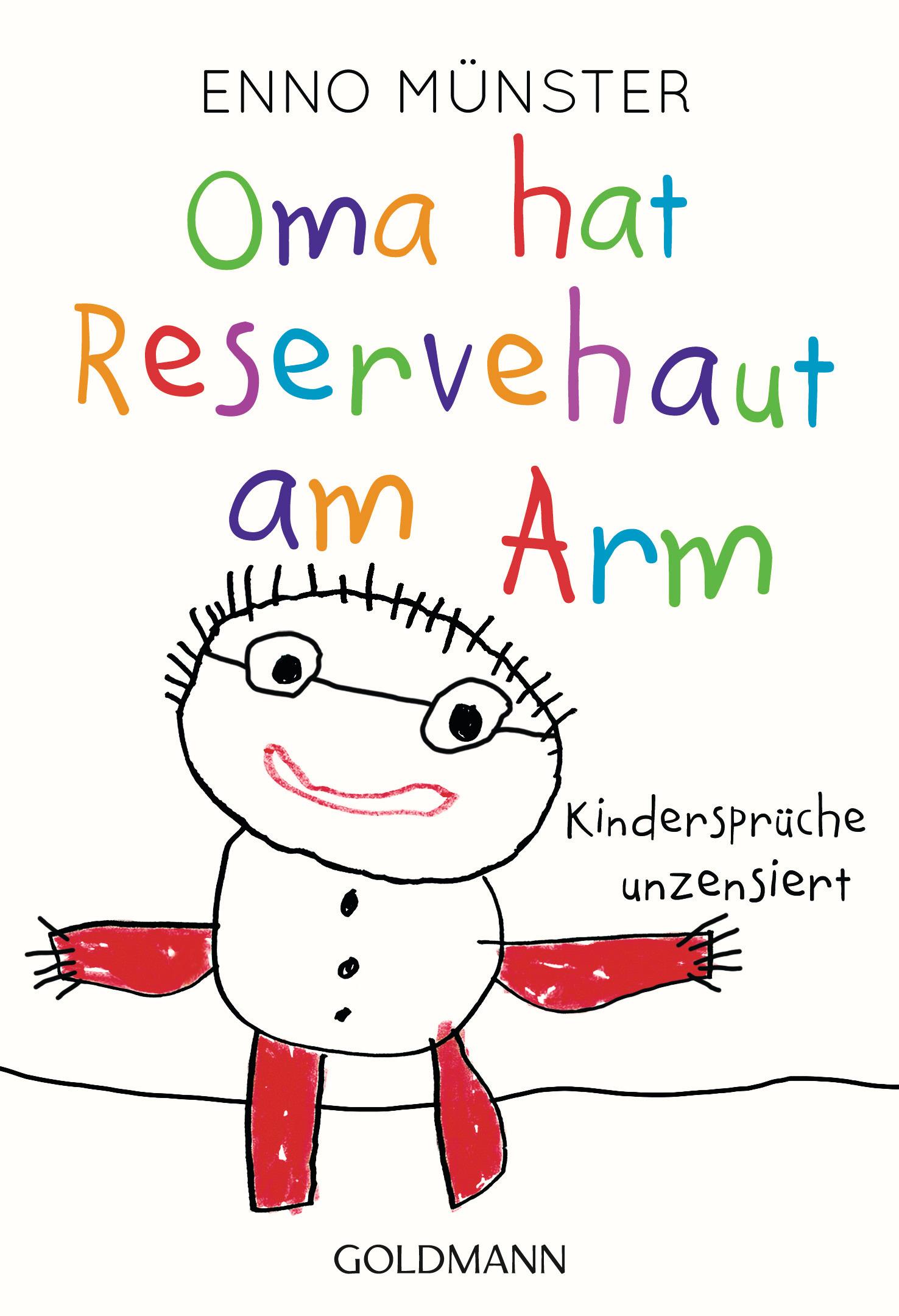 Oma hat Reservehaut am Arm von Enno Muenster