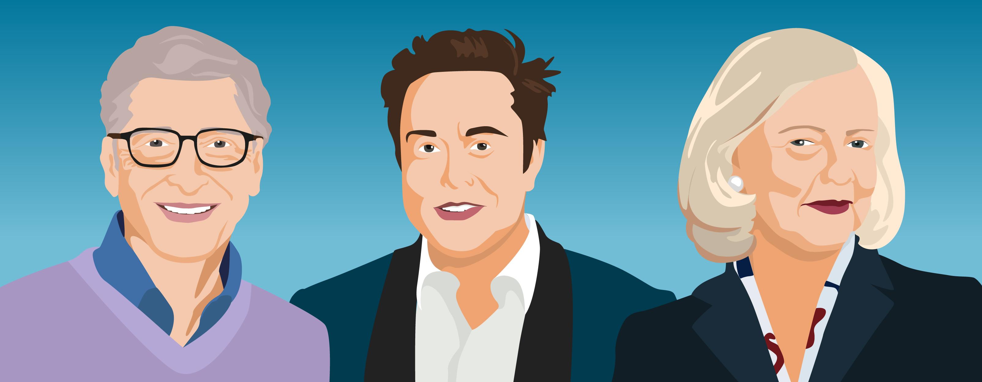 Die Lernroutinen von Millionären wie Bill Gates, Elon Musk und Co. - sofatutor-Magazin - Eltern