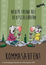Kalender Comic Eulenspiegel Lehrer