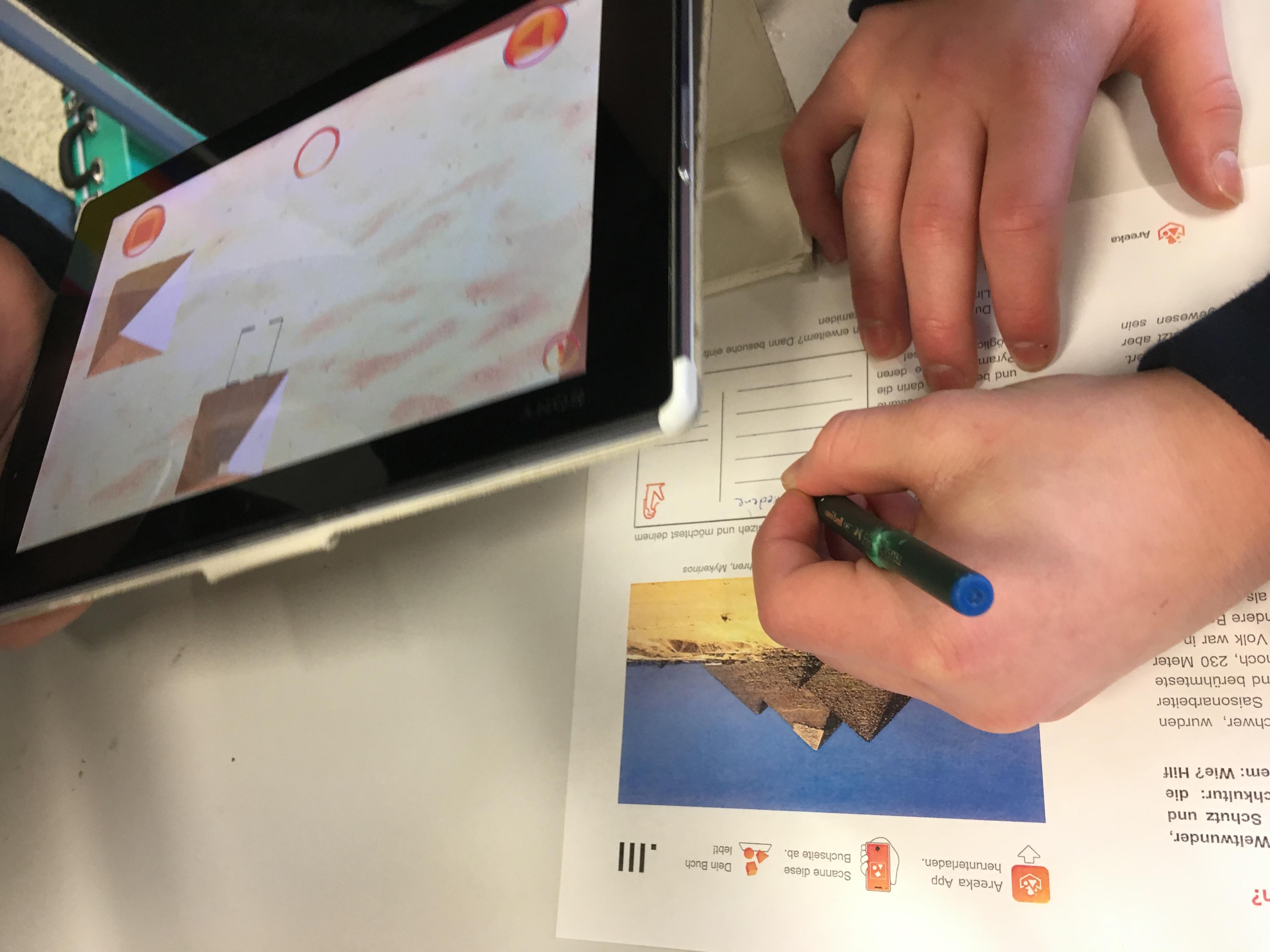 Augmented Reality im Unterricht Geschichte Pyramiden_ 4
