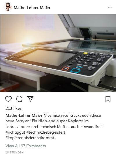 Instagram-Post Kopierer