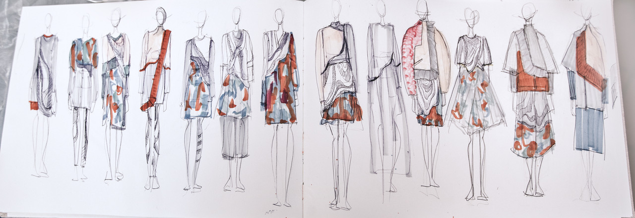 Linie Clara Kaesdorf Modedesign