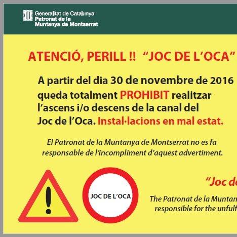 Tancament JOC DE L'OCA