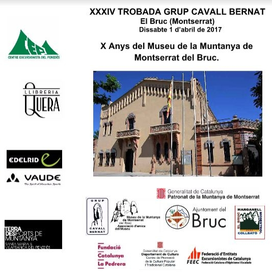 XXXIV TROBADA DEL GRUP CAVALL BERNAT al BRUC