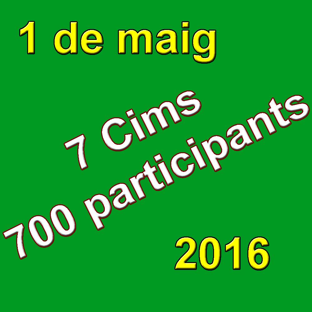 7 Cims - 700 Participants
