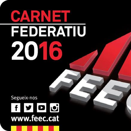 Preus dels carnets federatius  per a l'últim quadrimestre del 2016