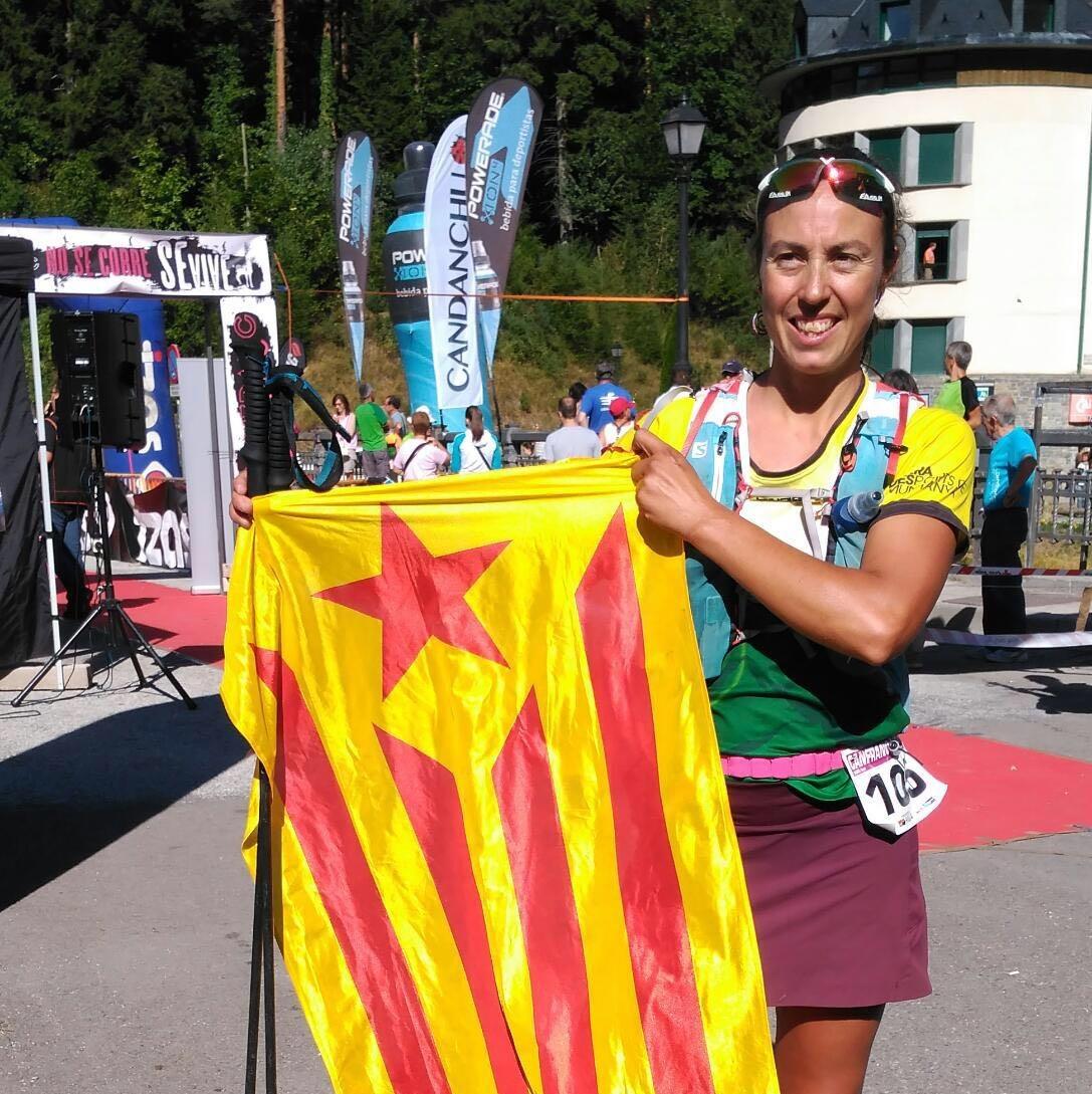 """Mònica Guilera a les """"Alpin Ultras"""""""
