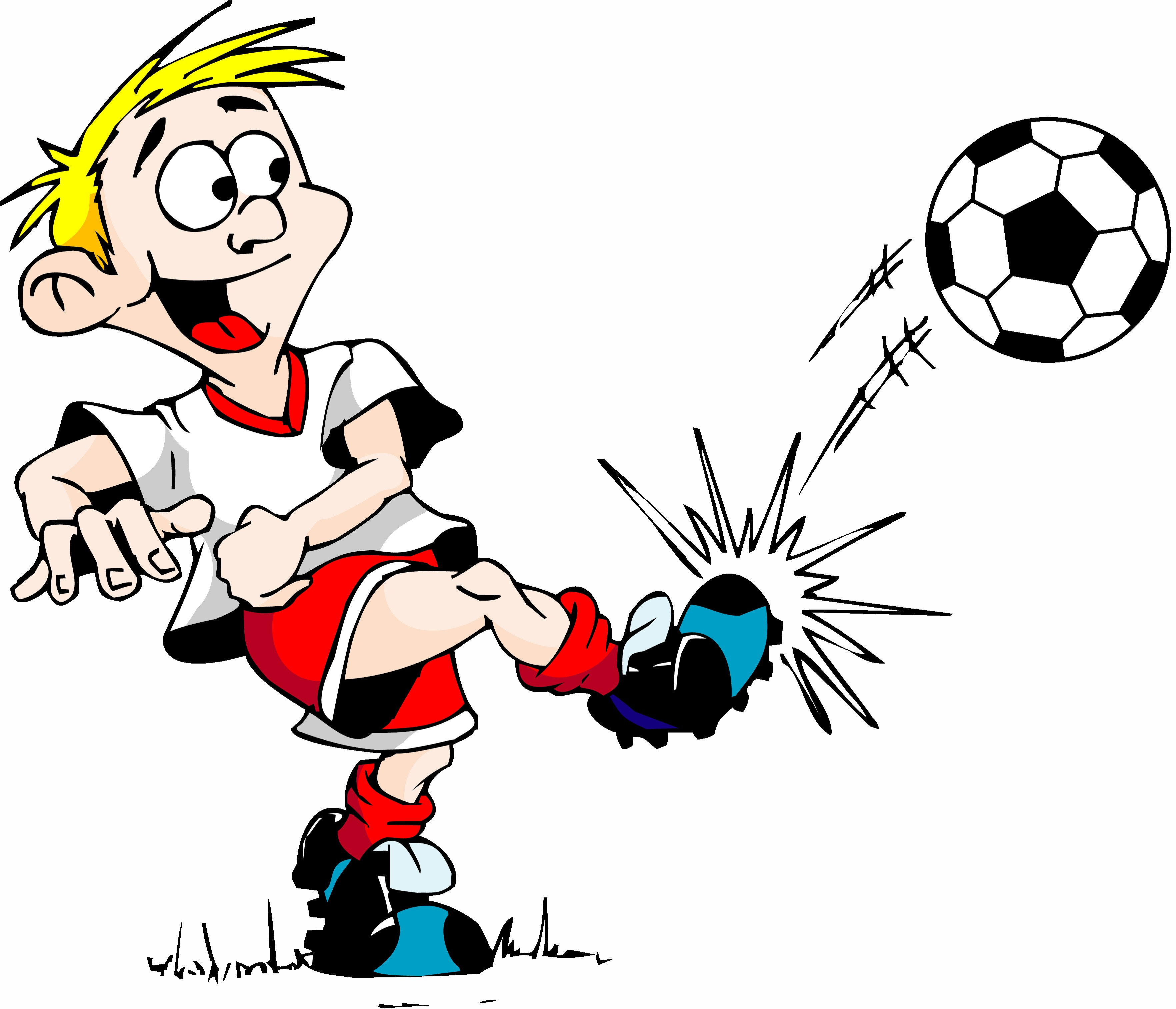 Смешные нарисованные картинки про футбол