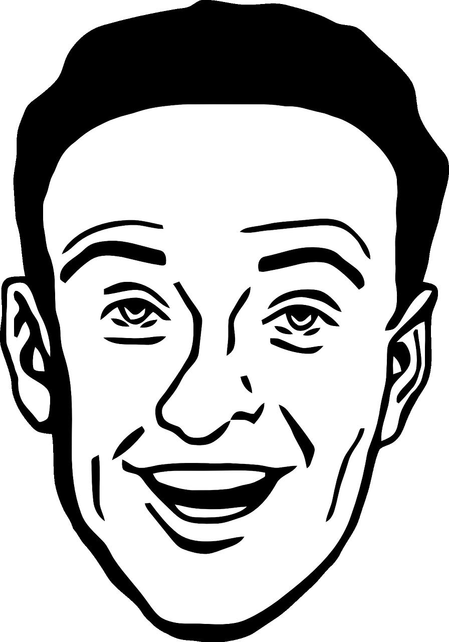 Лицо рисунок картинка