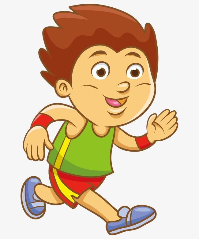 Мальчик бегущий картинки