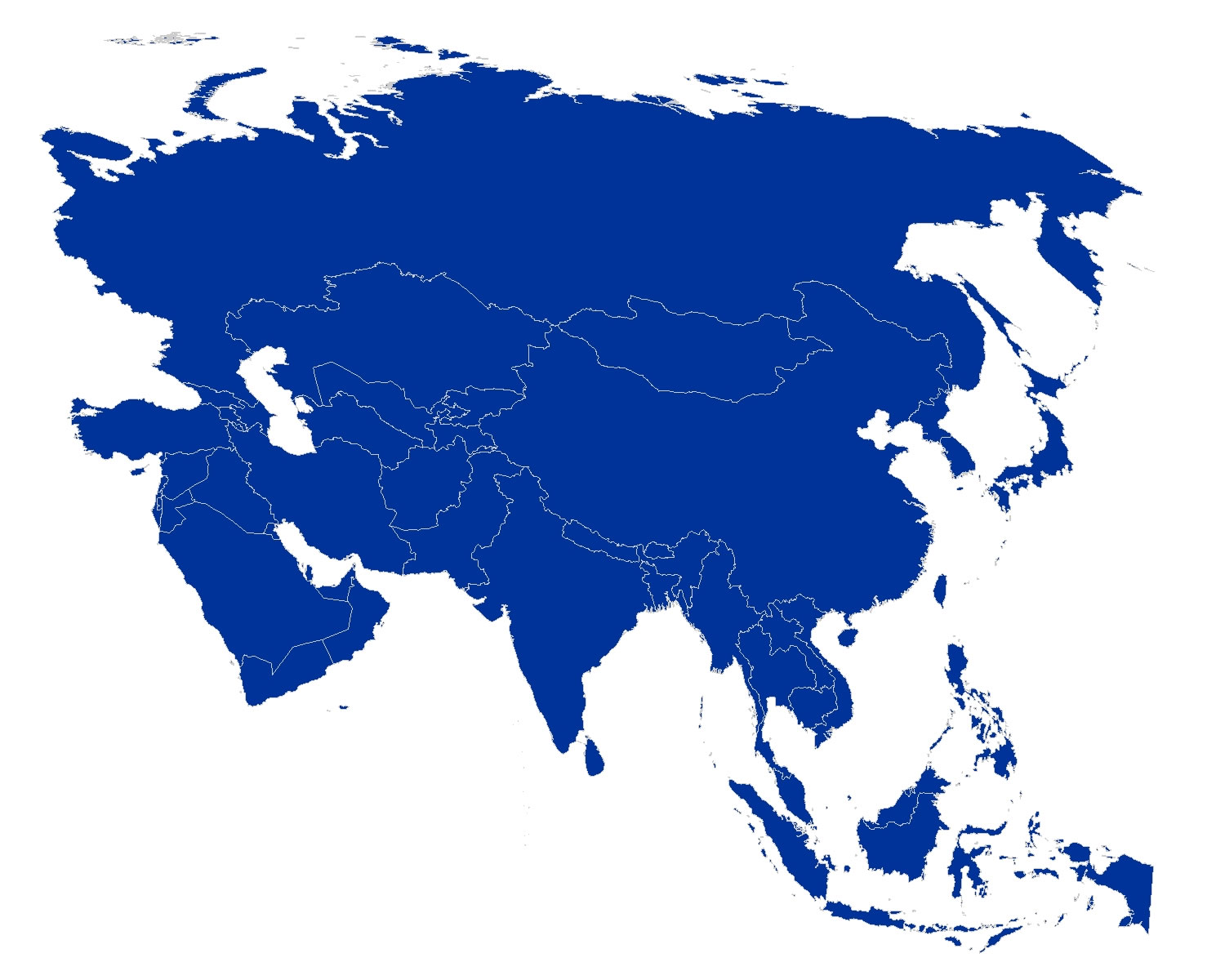 What are the continents called