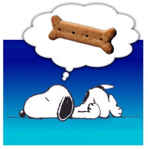 What Is Snoopy Doing He Dreaming