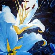 Lilienblau