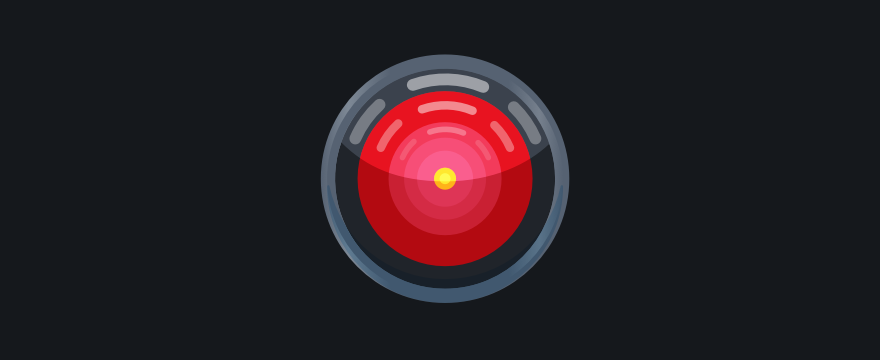 HAL 9000 - header image for ai-powered customer service