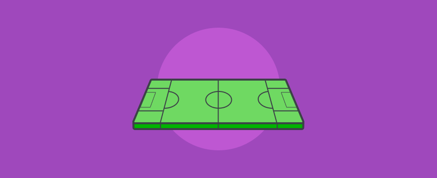 a soccer field – header image for areas of customer service