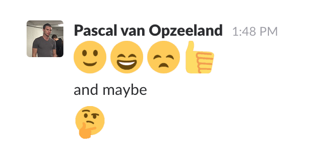 The few important emoji for professional communication.