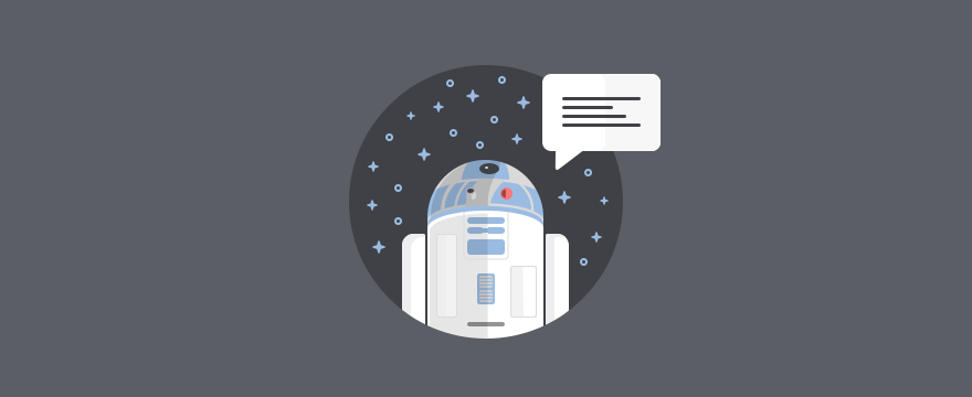 R2D2 chatbot.