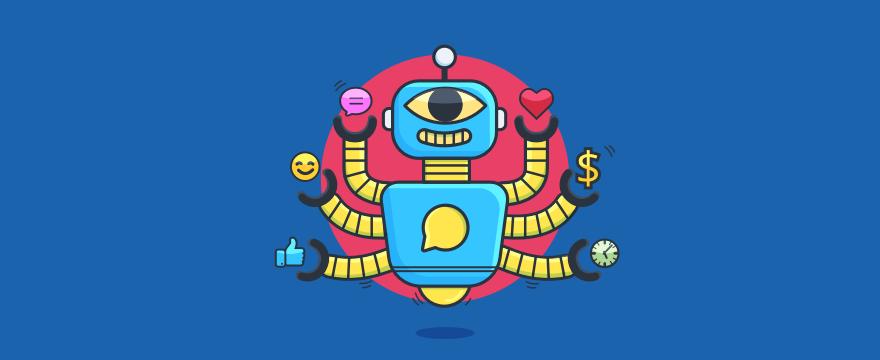 a chatbot goddess – header image for blog post on chatbot benefits