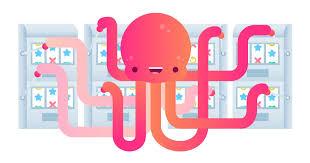 Bild von einem Oktopus