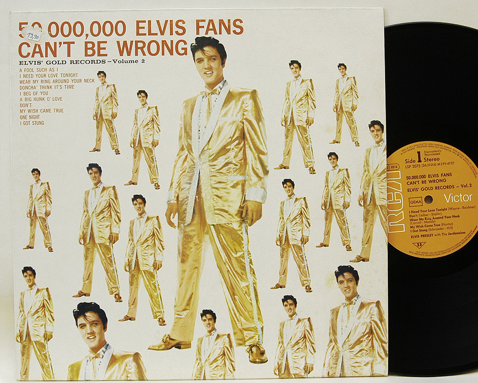 50,000,000 Elvis Fans Can't Be Wrong Album Cover