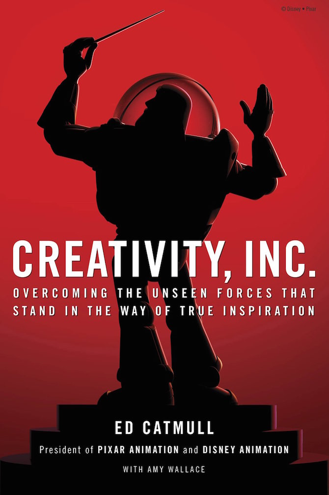 book cover of Creativity Inc
