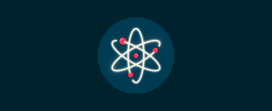 Atomic symbol, to symbolize customer service principles.