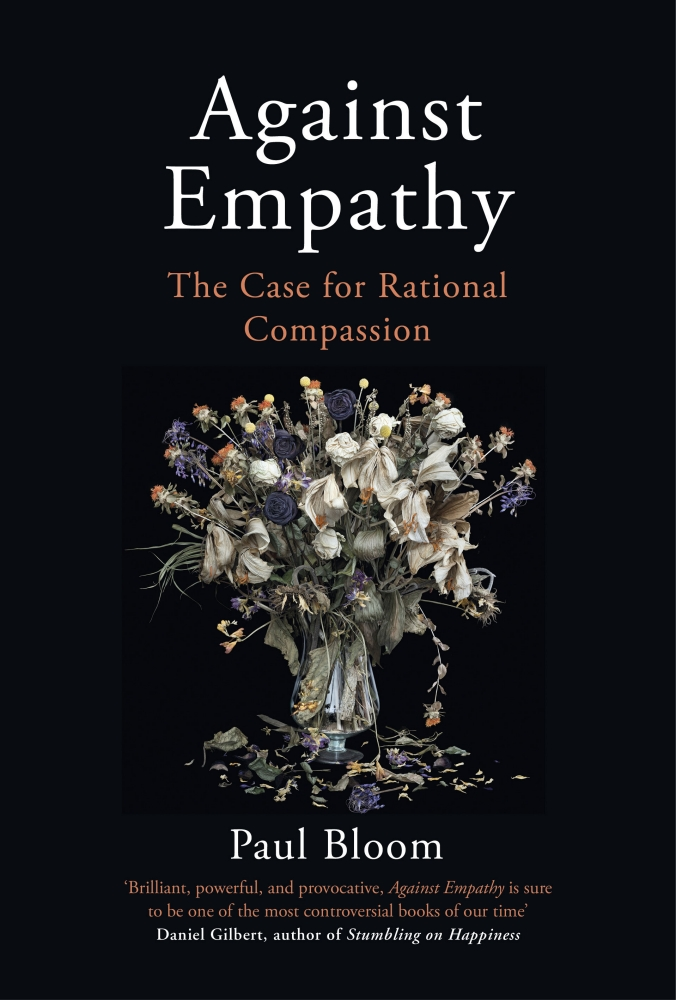 Book cover Against Empathy