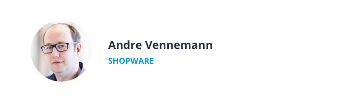 Image of Andre Vennemann, Account Executive at Shopware