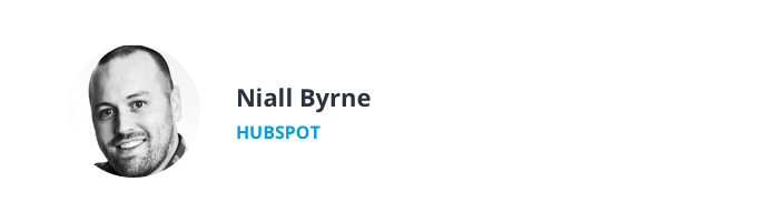 Image of Niall Byrne, Director of Support at HubSpot