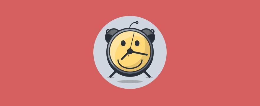 Customer service workflow clock