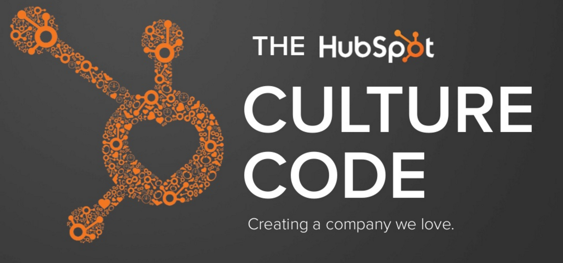 Cover page of Hubspot's Culture Code deck