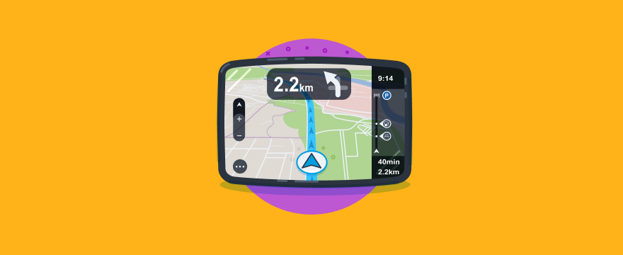 GPS system - header image for 18 Practical Tips for a Digital Transformation Roadmap