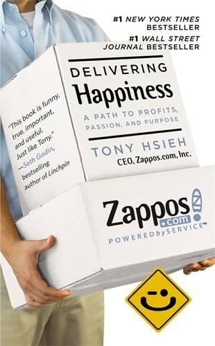 cover of the book delivering happiness