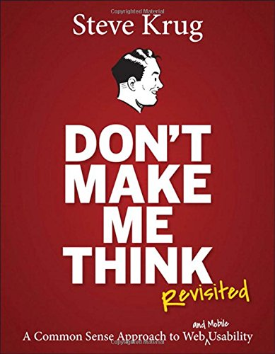 cover of the book don't make me think