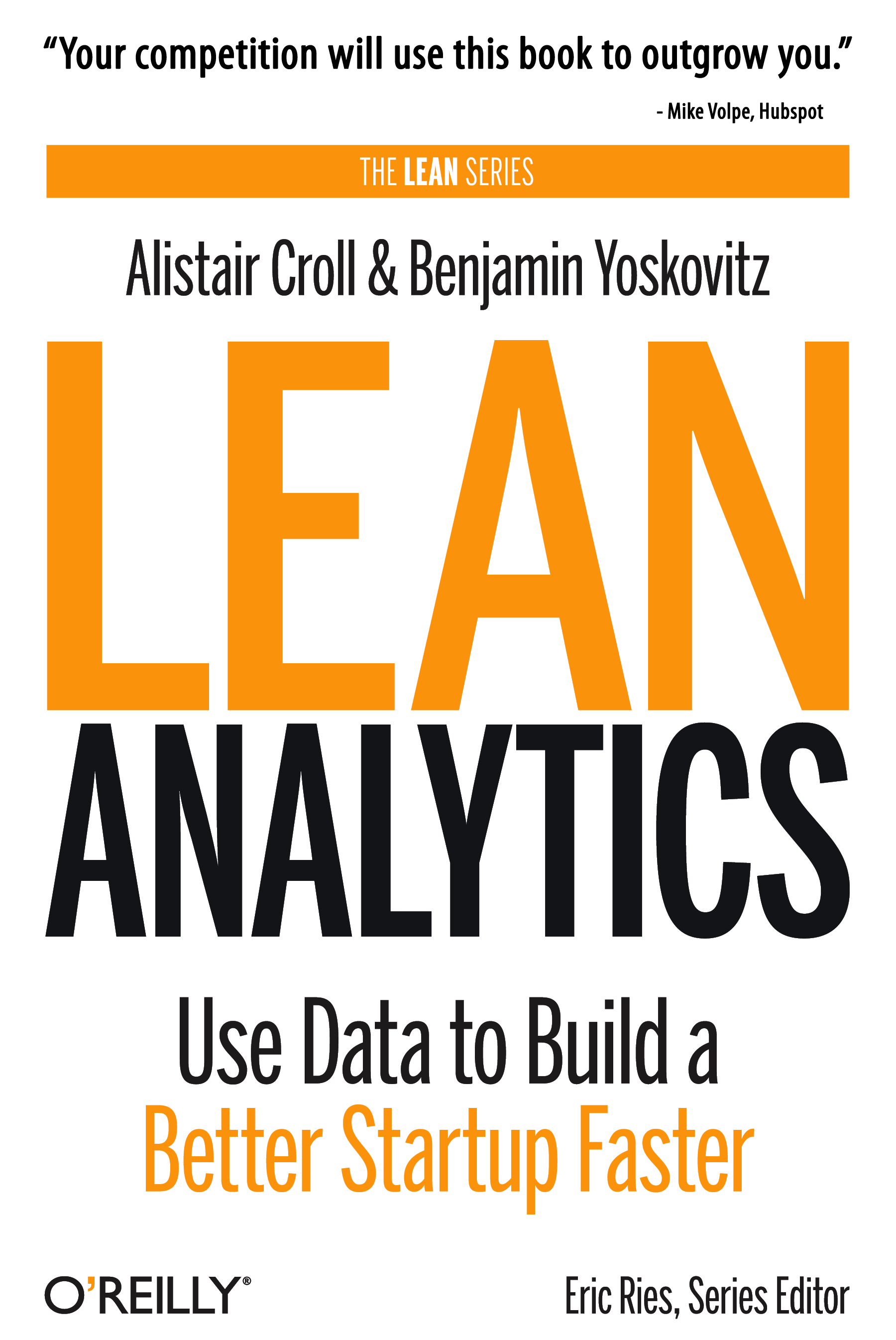cover of the book lean analytics