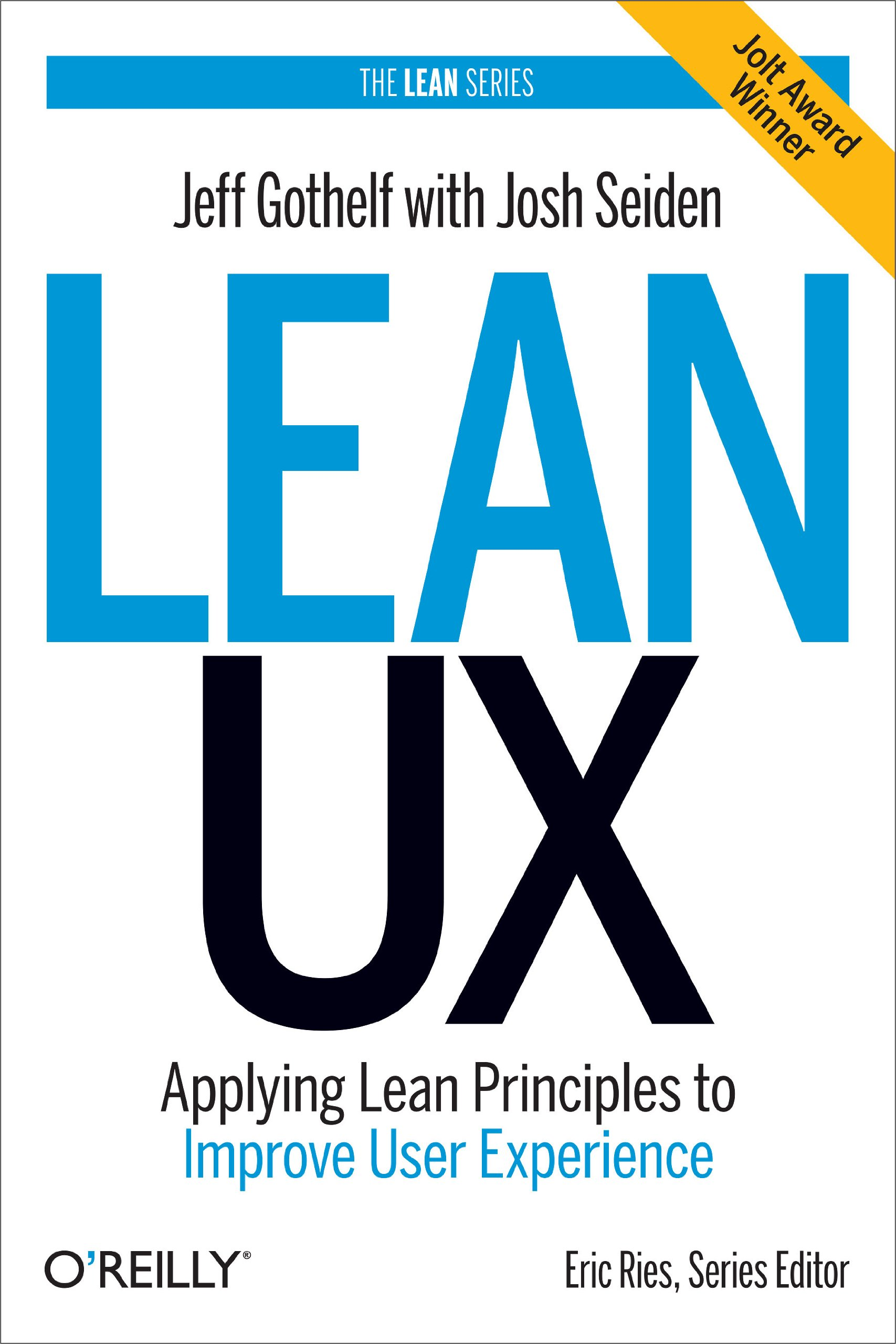 cover of the book lean ux