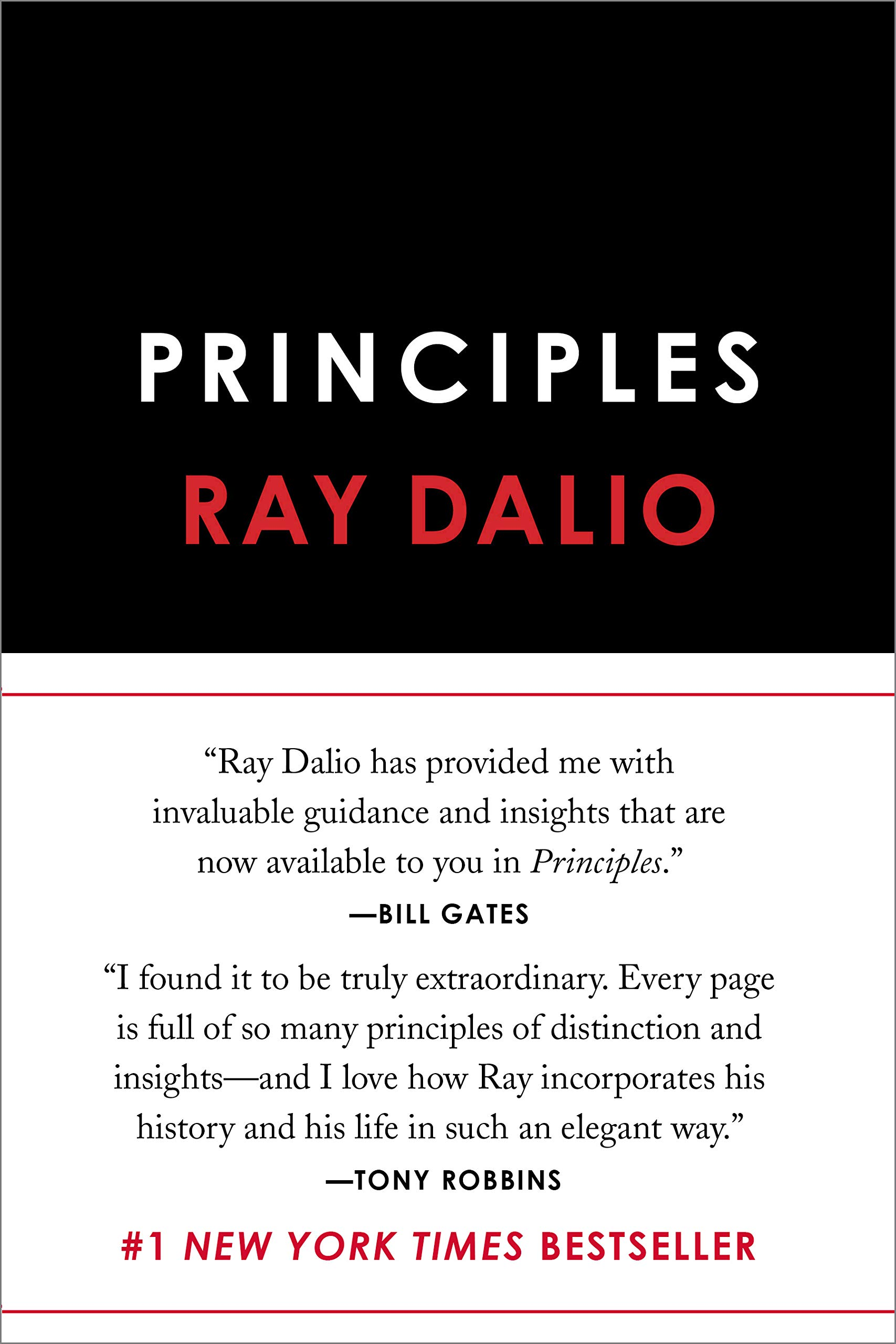 cover of the book principles