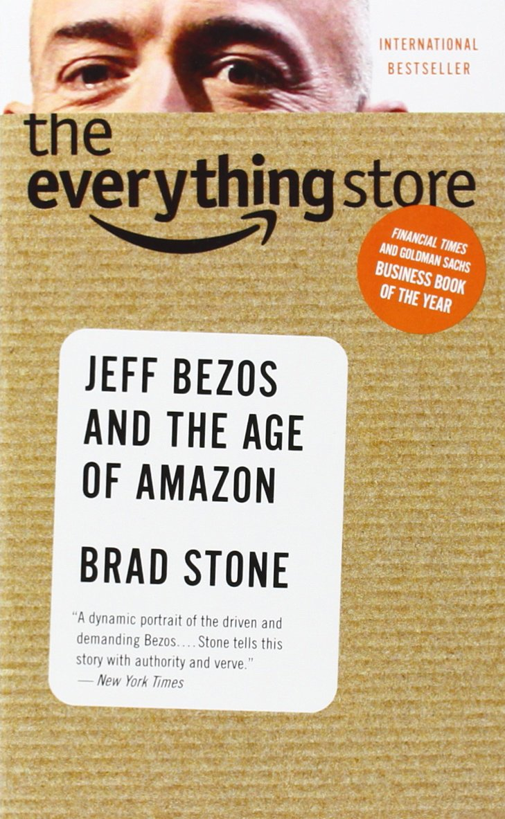 cover of the book the everything store