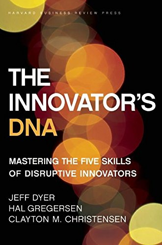 cover of the book the innovator's DNA
