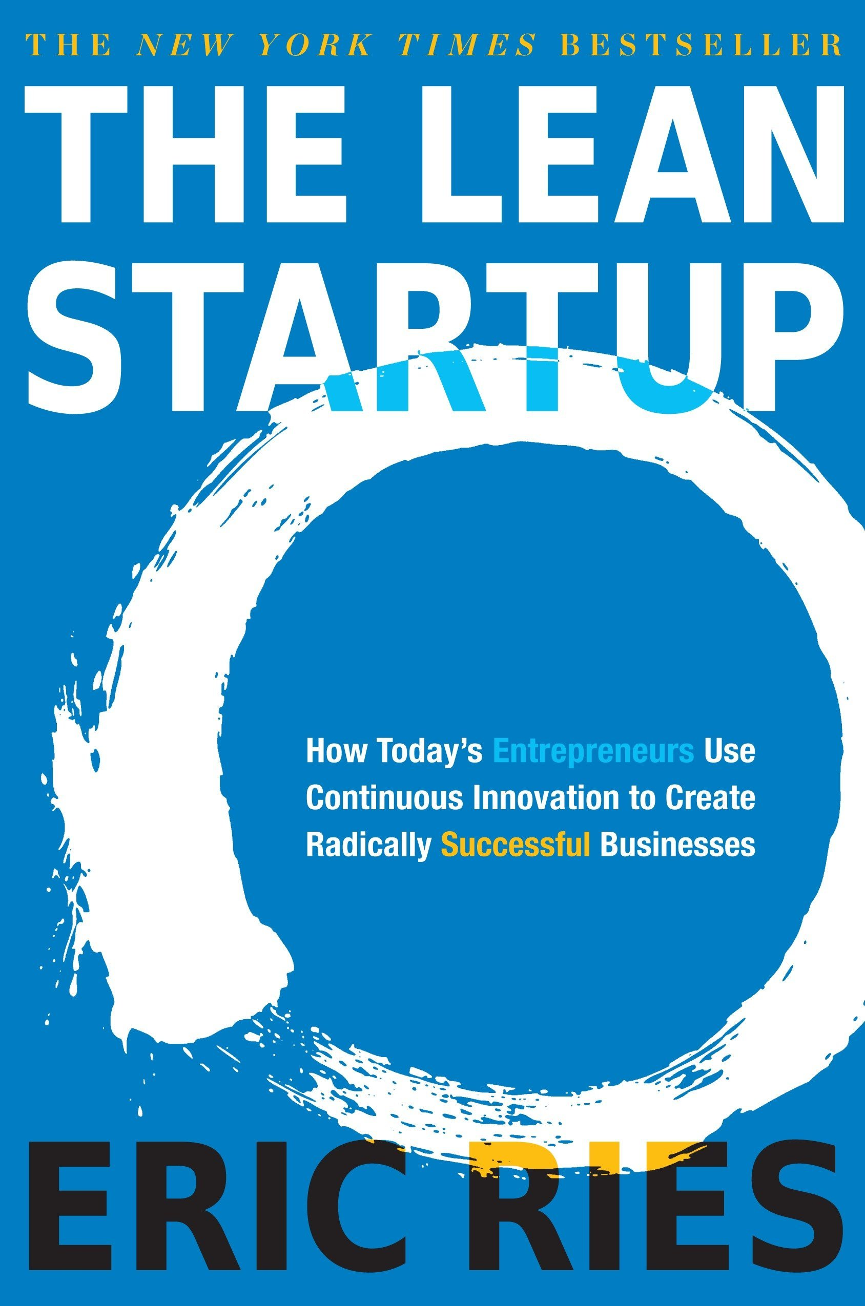 cover of the book the lean startup