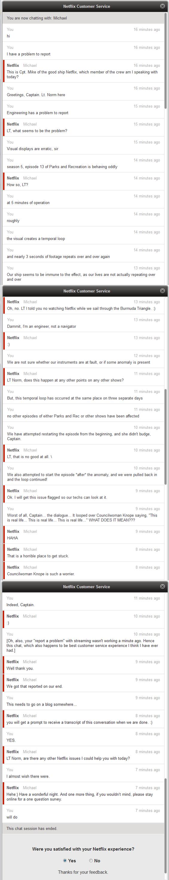 netflix chat support