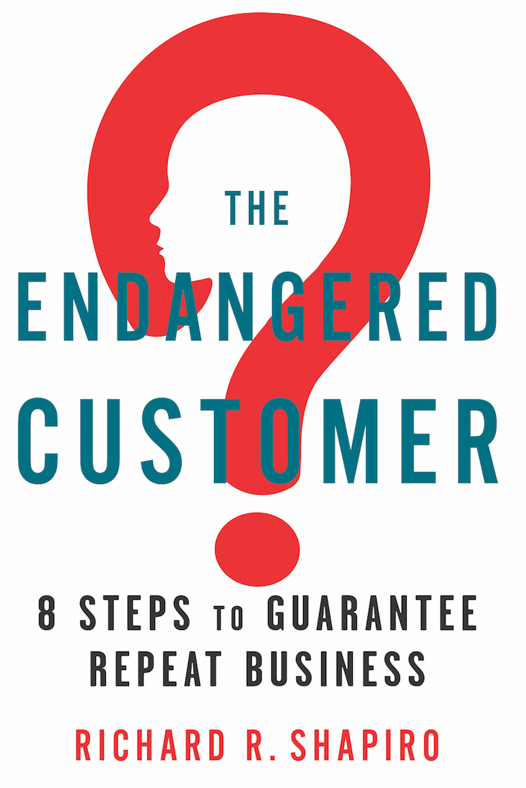 Book cover of The Endangered Customer.